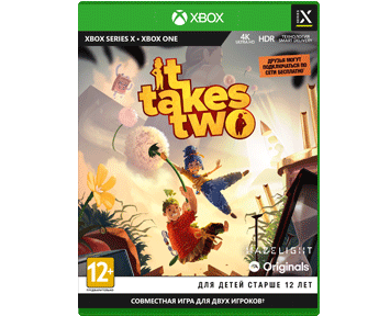 It Takes Two (Русская версия)(Xbox One/Series X) ПРЕДЗАКАЗ!