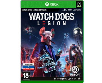 Watch Dogs: Legion (Русская версия)(Xbox One/Series X)