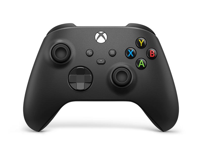 Беспроводной геймпад Xbox Carbon Black  дополнительное изображение 1